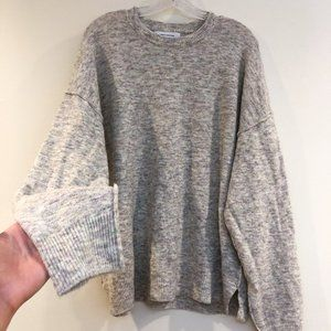 Urban Outfitters Knit Oversized Crew Neck Sweater